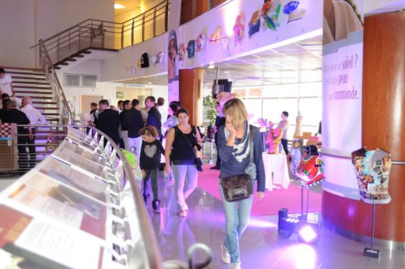 Vernissage de l'exposition «Des Seins d'Art»