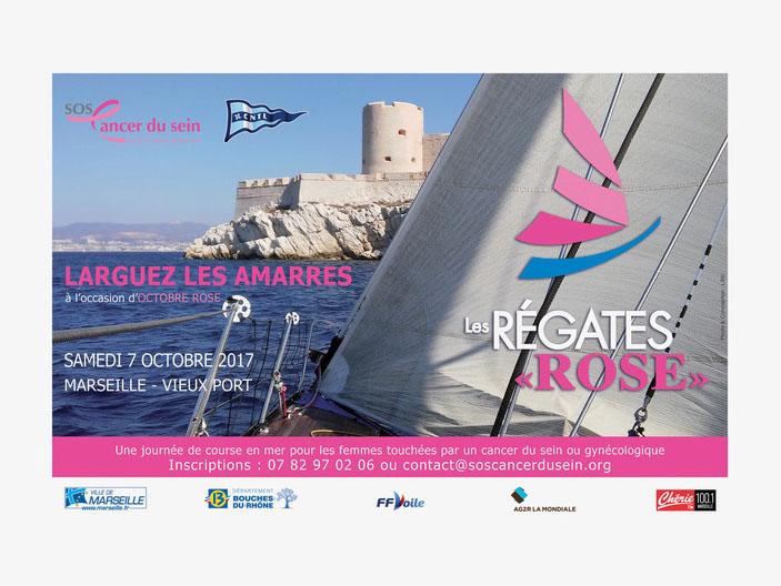 Défi rose - Régate Rose 2017 - Marseille