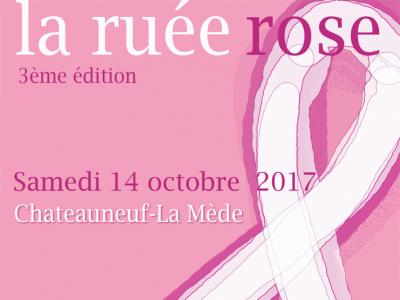 La ruée rose : 3ème édition le samedi 4 octobre à Chateauneuf – La mède